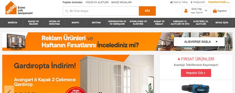 Türkiyədən Azərbaycana Koçtaş mehsullarinin Sifarişi ve Çatdırılması