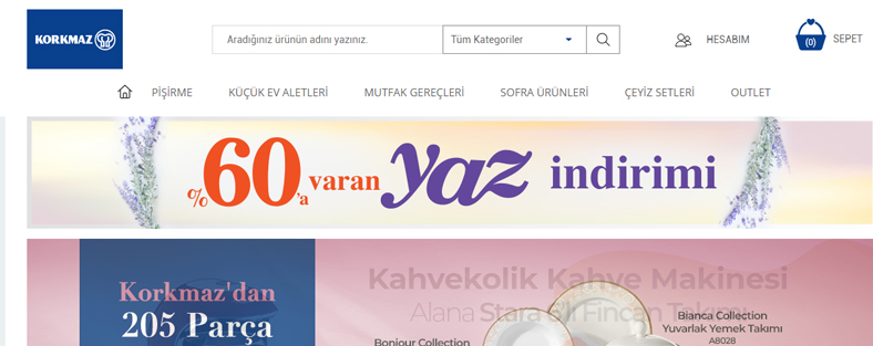 Türkiyədən Azərbaycana Korkmaz mehsullarinin Sifarişi ve Çatdırılması